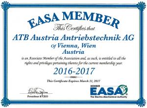 Member of EASA